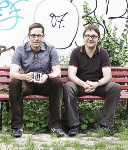 Philipp KÖSTER (links) und Jens KIRSCHNECK (rechts). Foto: 11 FREUNDE
