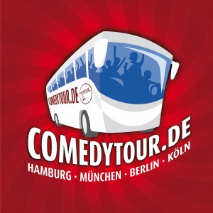 ComedyTour Busillustration