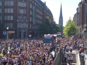 Parade Innenstadt