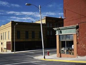 Street Corner Butte, Montana, 2003. Foto: Wenders Images