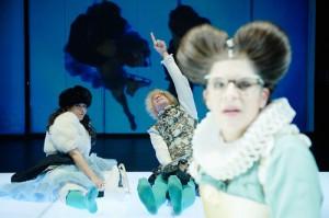 """Orlando"" im Thalia Theater Hamburg Gaußstrasse. Foto: Hamburger Theaternacht / Fabian Hammerl"