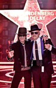 Udo Lindenberg und Jan Delay bei der ECHO-Verleihung. Foto: Tine Acke