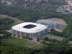 Das Volksparkstadion. Von manchen auch Imtech Arena genannt. Foto: Merlin Senger