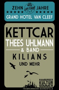Grand Hotel van Cleef Plakat