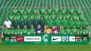 Mannschaftsbild Werder Bremen
